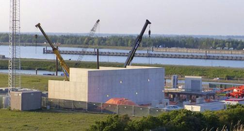 over de bouw van het  windpark